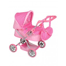 Dětský kočárek pro panenky Play TO Viola bledě-růžový Preview