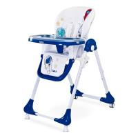 Jídelní stolička CARETERO Luna - modrá navy
