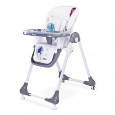 Jídelní židlička CARETERO Luna - šedá Preview