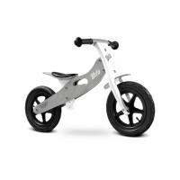 Dětské dřevěné cykloodrážadlo Toyz Velo 12 '- šedé