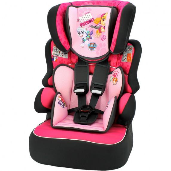 Autosedačka Nania Beline Sp Luxe Paw Patrol - růžová