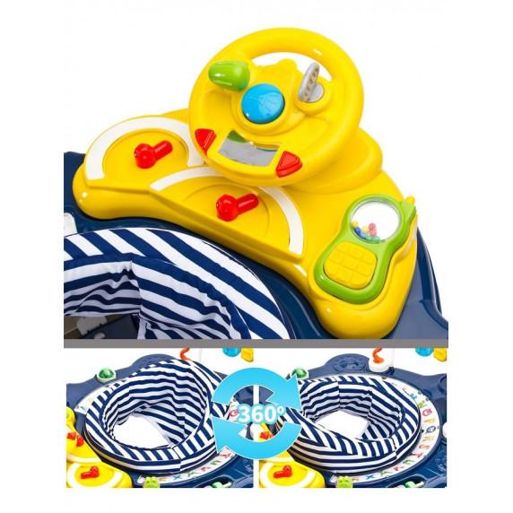 Dětské chodítko Toyz HipHop 3v1- zelené