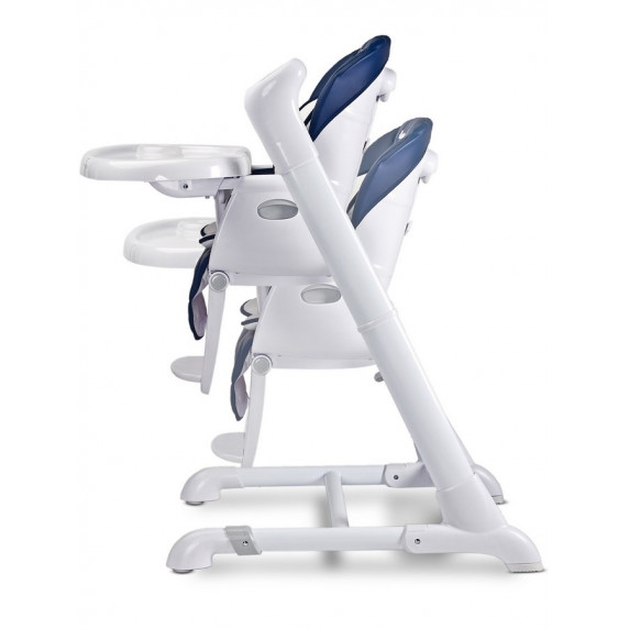 Dětská jídelní židlička 2v1 Caretero Indigo tmavě modrá