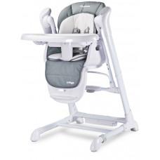 Dětská jídelní židlička 2v1 Caretero Indigo šedá Preview