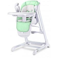 Dětská jídelní židlička 2v1 Caretero Indigo mentolová Preview