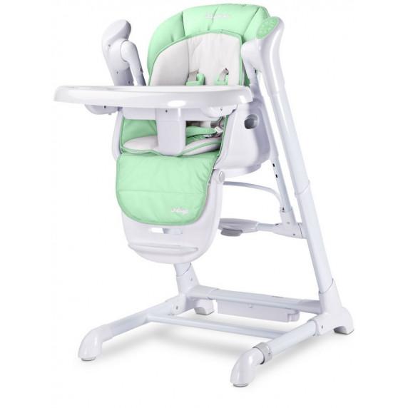 Dětská jídelní židlička 2v1 Caretero Indigo mentolová