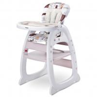 Jídelní židlička CARETERO Home - béžová