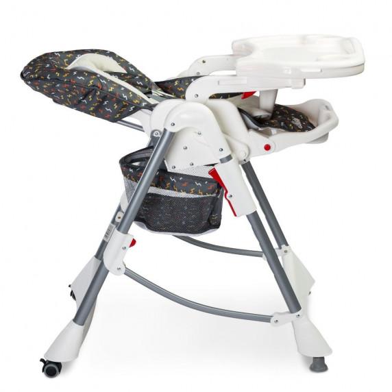 Jídelní židle CARETERO Bistro grafitová