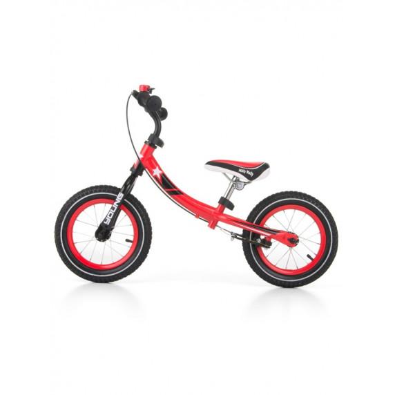 Dětské cykloodrážedlo 2v1 Milly Mally Young 12 '- červený