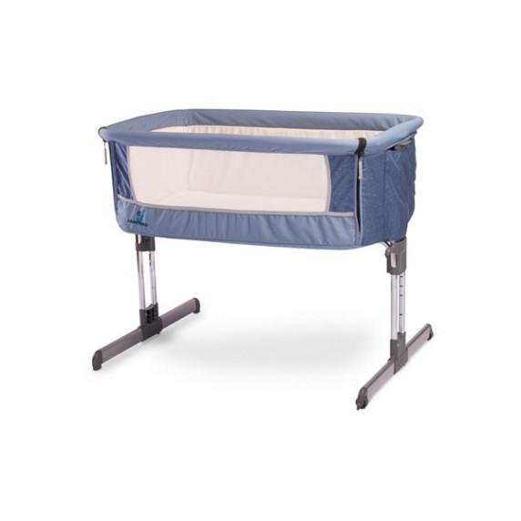 CARETERO Sleep2gether dětská postýlka - modrá