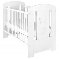 Dětská postýlka New Baby Králíček standard bílá Preview