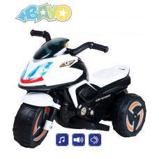 BAYO elektrická motorka KICK bílá Preview