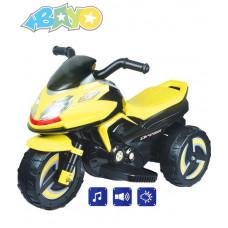 BAYO elektrická motorka KICK žlutá Preview