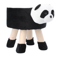 Inlea4Fun Dětský taburet - Panda