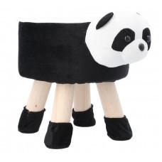Inlea4Fun Dětský taburet - Panda Preview