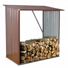 Ingarden Kůlna na palivové dřevo 164 x 83 x 154 cm - hnědá Preview