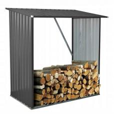 Ingarden Kůlna na palivové dřevo 164 x 83 x 154 cm - tmavě šedá Preview