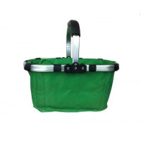 Nákupní košík skládací - zelený