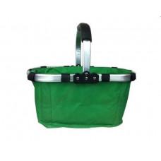 Nákupní košík skládací - zelený Preview