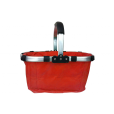 Nákupní košík skládací - červený Preview