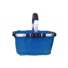 Nákupní košík skládací - modrý Preview