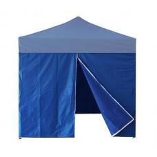 InGarden Bočnice s dveřmi k prodejnímu stánku 3 x 3 m - modrá Preview