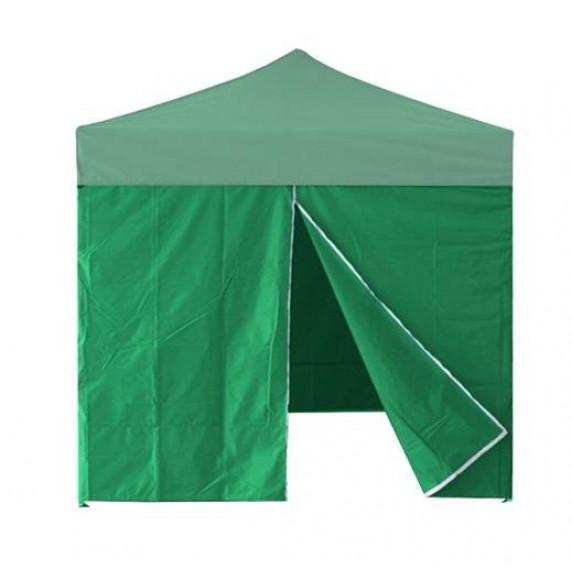 InGarden Bočnice s dveřmi k prodejnímu stánku 3 x 3 m - zelená