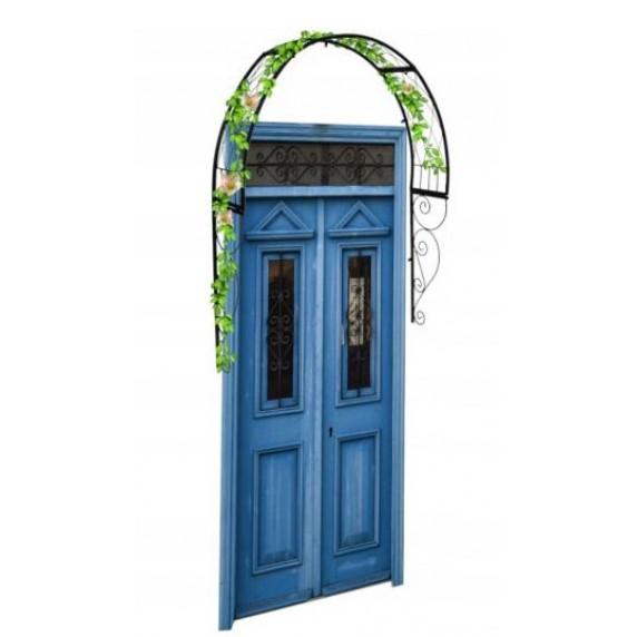 GARDEN LINE Dekorativní stříška nad dveře 110 x 21 x 106 cm