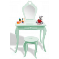 Toaletní stolek Inlea4Fun - mátový