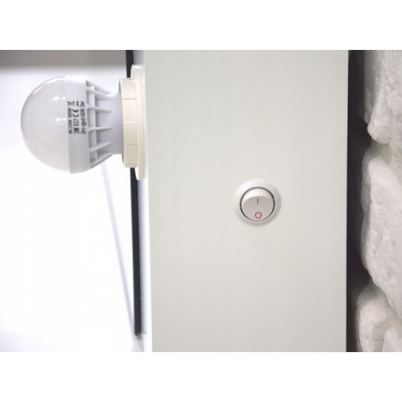 Inlea4Fun toaletní stolek s osvětlením s 4 zásuvkami