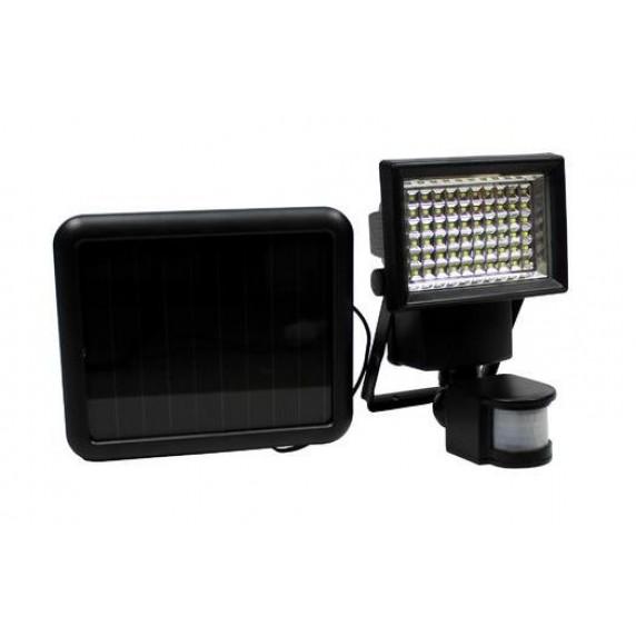 GARDEN LINE Solární lampa s pohybovým senzorem 100 LED - černé