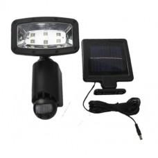 InGarden Solární lampa s pohybovým senzorem 6 LED - černá Preview