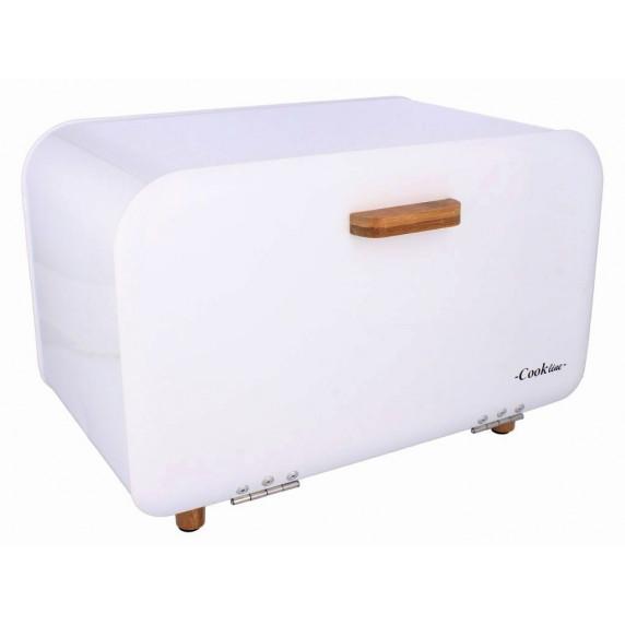 Cook Line COMINO Kovový chlebník - bílý