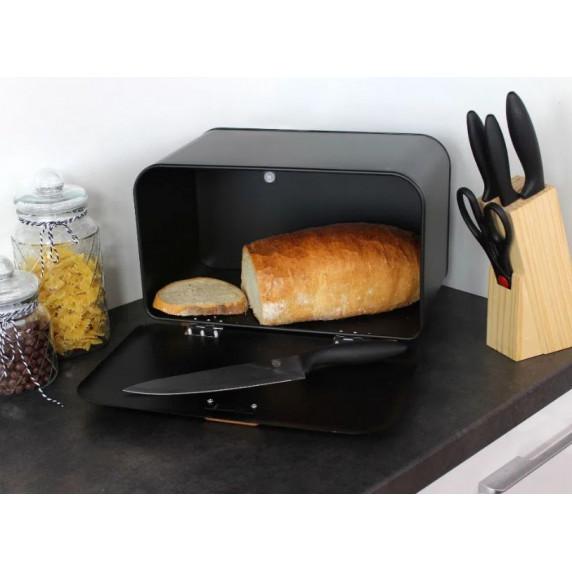 Cook Line COMINO Kovový chlebník - černý