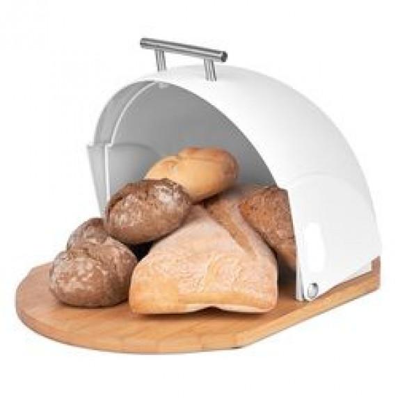 Cook Line CURCUMA Kovový chlebník - bílý
