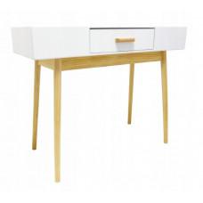 Stolek v skandinávském stylu se zásuvkou 100 x 40 x 79 cm InGarden SCANDINAVIA Preview