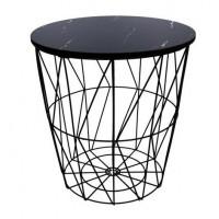Konferenční stolek 29/30,5 cm Inlea4Home 9138 - černý