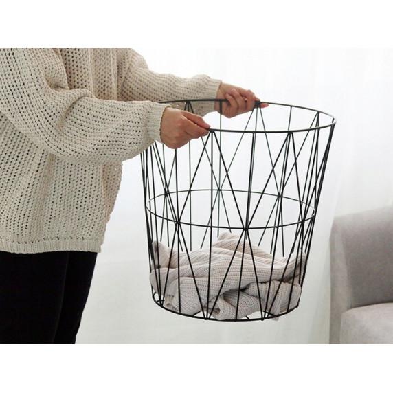 Konferenční stolek 39,5/41 cm Inlea4Home 9145 - černý/natur