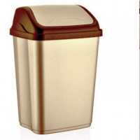 Výklopný odpadkový koš VITTORIO 50 l Inlea4Home - béžový