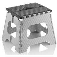 Skládací stolička 35,5 cm Inlea4Home - šedá