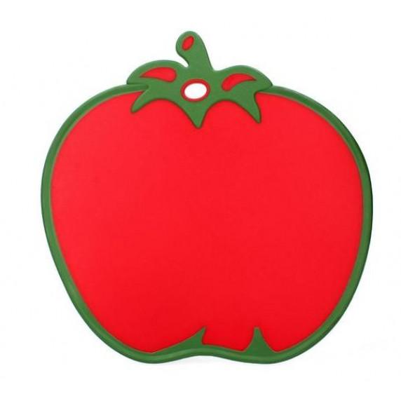 Deska na krájení s protiskluzovými prvky ve tvaru rajčete Inlea4Home
