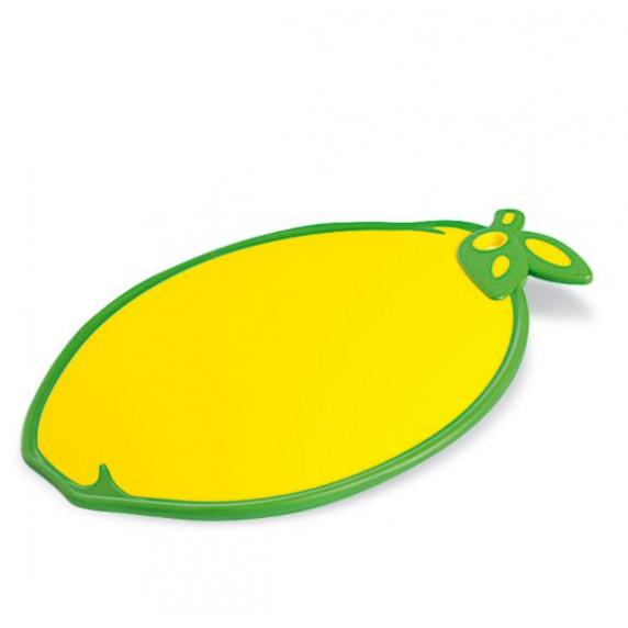 Deska na krájení s protiskluzovými prvky ve tvaru citrónu Inlea4Home