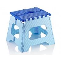 Skládací stolička 35,5 cm Inlea4Home - modrá