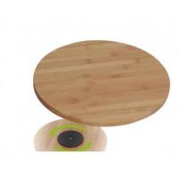 Dřevěná otočná deska na krájení 30x2,5cm Inlea4Home