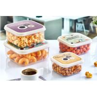 Úložný box se vzorem 4 ks Inlea4Home -breakfast