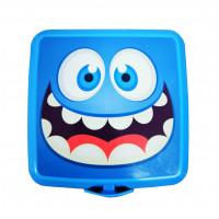Potravinový box na občerstvení s příborem Inlea4Home - smile