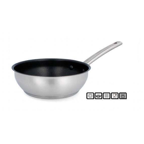 """Vysoká """"wok"""" pánev s nepřilnavým povrchem 20 cm Inlea4Home"""
