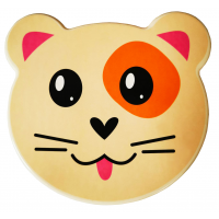 Dóza na potraviny sada zvířátka 4 ks Inlea4Home - kočička