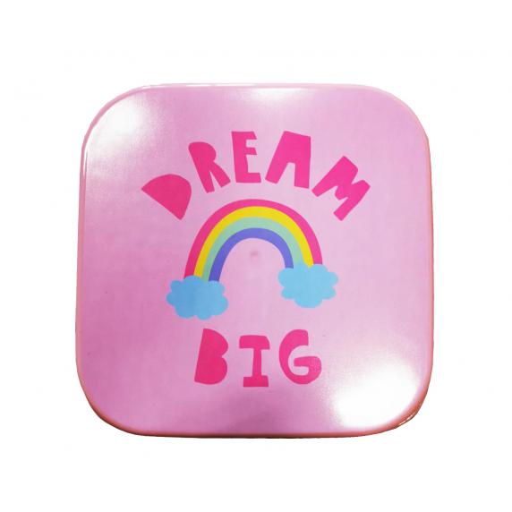 Úložný box se vzorem 4 ks Inlea4Home - Dream Big