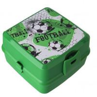 Potravinový box na občerstvení s příborem Inlea4Home - Fotball